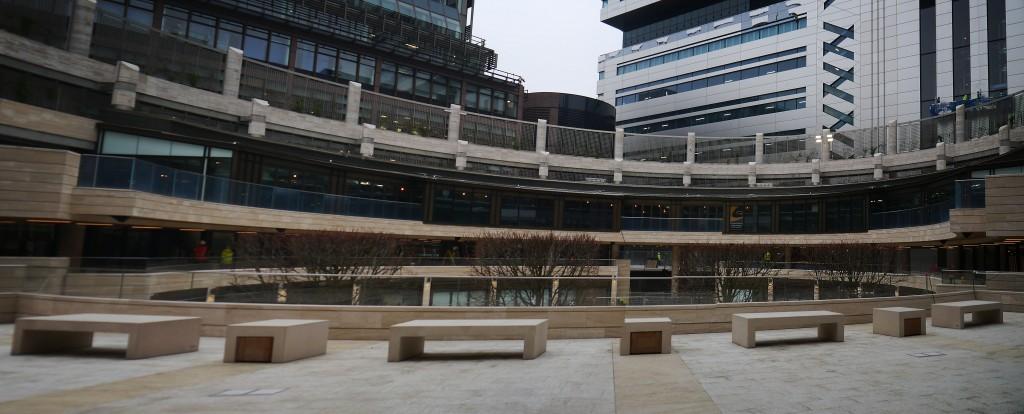 Broadgate Circle title image