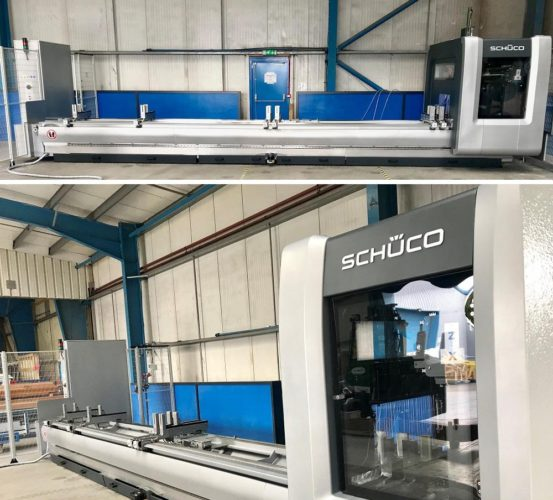 PSP Invest in New Schueco AF450 CNC machine title image