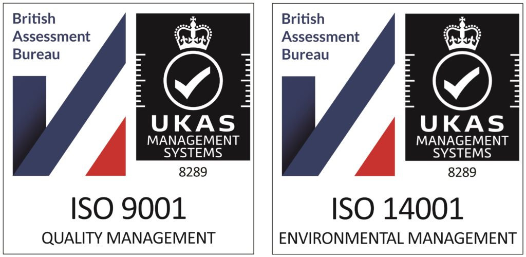 PSP Accreditations and Certifications - ISO 9001 & ISO 14001